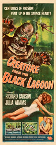 Movie Posters:Science Fiction, Creature from the Black Lagoon (Universal International, 1...