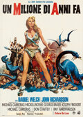 Movie Posters:Fantasy, One Million Years B.C. (20th Century Fox, 1966). Folded, V...