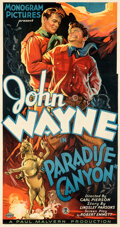 Movie Posters:Western, Paradise Canyon (Monogram, 1935). Very Fine- on Linen....