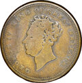(1829-30) New York, New York, C. Wolfe, Spies & Clark, R. E-NY-963, R.7, VG10 NGC. Copper, plain edge. Ex: Donald G...