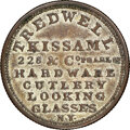 (1825-26) New York, New York, Tredwell, Kissam & Co., R. E-NY-921C, R.5--Tooled--NGC Details. AU. Silvered copper, r...