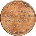 (1850s) New York, New York, Loder & Co., M. NY-465 MS66 Red and Brown NGC. Copper, plain edge. Ex: Donald G. Partric...