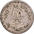 (1850) Baltimore, Maryland, The Champaign Fountain, R. MD-502, AU55 NGC. German silver, plain edge. Ex: Donald G. Partri...