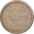 U.S. Merchant Tokens (1845-1860), 1845 Chicago, Illinois, Hamilton & White, M. ILL-12 XF45 NGC. Copper, plain edge.. Ex: Donald G. Partrick....