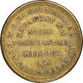 Early American Tokens, (1829-30) New York, New York, W.H. Schoonmaker, R. E-NY-782, R.6--Damaged--NGC Details. XF. Brass, reeded edge.. Ex: Donal...