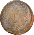 (1825-29) New York, New York, Richard Trested, R. E-NY-923, R.6, XF45 NGC. Copper, reeded edge. Ex: Donald G. Partrick...