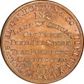 (1848-52) Chicago, Illinois, C.N. Holden & Co., M. ILL-15 MS67 Red and Brown NGC. Copper, plain edge. Ex: Donald G...