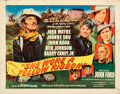 Movie Posters:Western, She Wore a Yellow Ribbon (RKO, 1949). Folded, Fine+.