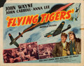 Movie Posters:War, Flying Tigers (Republic, 1942). Rolled, Fine. Half...