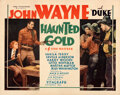 """Movie Posters:Western, Haunted Gold (Warner Bros. - Vitagraph, 1932). Rolled, Very Fine. Half Sheet (22"""" X 28"""").. ..."""