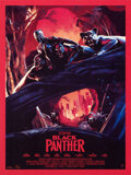 "Movie Posters:Action, Black Panther (Chris Skinner, 2018). Rolled, Near Mint+. Hand Numbered Limited Edition Screen Printed Poster (18"" X 2..."