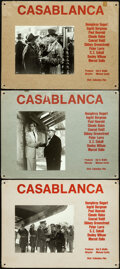 Movie Posters:Academy Award Winners, Casablanca (Columbus Film, R-1950s). Fine/Very Fine.