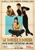 Movie Posters:Foreign, A Woman is a Woman (Euro International Films, 1961). Folde...