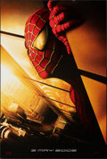 """Movie Posters:Action, Spider-Man (Columbia, 2002). Rolled, Very Fine. One Sheet (26.75"""" X 39.75"""") SS Advance Twin Towers Style. Action.. ..."""