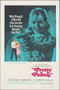 "Pretty Poison (20th Century Fox, 1968). Folded, Very Fine-. One Sheet (27"" X 41"") Style B. Thriller"