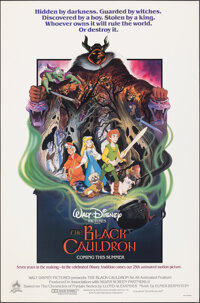 "The Black Cauldron & Other Lot (Buena Vista, 1985). Rolled, Overall: Very Fine+. One Sheets (2) (27"" X 41""..."