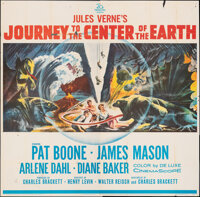 """Journey to the Center of the Earth (20th Century Fox, 1959). Folded, Overall: Fine-. Six Sheet (79"""" X 80"""") &am..."""