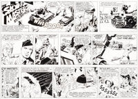 Jack Kirby and Wally Wood Sky Masters of the Space Force Sunday Comic Strip Original Art dated 7-26-59 (George Mat