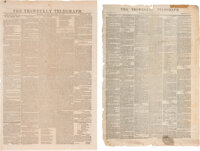 Group of Texas Newspapers: Frank Leslie's Illustrated Newspaper and The Tri-Weekly Telegraph