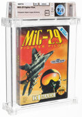Video Games:Sega, Mig-29 Fighter Pilot- Wata 9.8 A++ Sealed, GEN Domark 1993 USA. ...