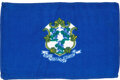Explorers:Space Exploration, Apollo 14 Flown Connecticut State Flag Originally from the...