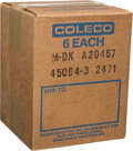 Video Games:Other, Factory Case Pack (Sealed) - Donkey Kong - INTV Coleco 1982 USA....