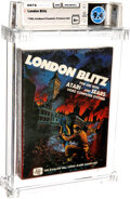 Video Games:Atari, London Blitz - Wata 9.4 A+ Sealed, 2600 Avalon Hill 1983 USA....