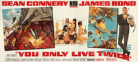 "You Only Live Twice (United Artists, 1967). Folded, Very Fine. 24 Sheet (130.75"" X 230.75"") Frank McCarthy and..."