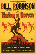 "Movie Posters:Musical, Harlem Is Heaven (Sack Amusement Enterprises, 1932). Fine- on Linen. Full-Bleed One Sheet (28.25"" X 41.5"").. ..."