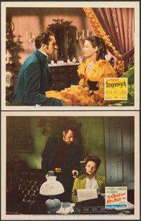 "The Ghost and Mrs. Muir & Other Lot (20th Century Fox, 1947). Very Fine-. Lobby Cards (2) (11"" X 14""). Rom..."