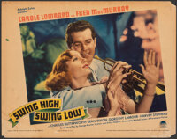 "Swing High, Swing Low (Paramount, 1937). Fine-. Lobby Card (11"" X 14""). Comedy"