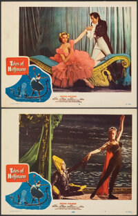 "The Tales of Hoffmann (United Artists, 1951). Overall: Fine/Very Fine. Lobby Cards (2) (11"" X 14""). Musical..."