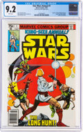 Bronze Age (1970-1979):Science Fiction, Star Wars Annual #1 (Marvel, 1979) CGC NM- 9.2 White pages....