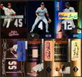 Baseball Cards:Lots, 2004 Leaf Limited Baseball Collection (21)....