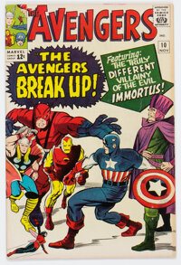 The Avengers #10 (Marvel, 1964) Condition: FN/VF