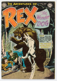 Adventures of Rex the Wonder Dog #10 (DC, 1953) Condition: FN