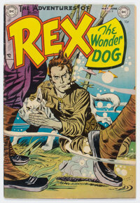 Adventures of Rex the Wonder Dog #9 (DC, 1953) Condition: FN+