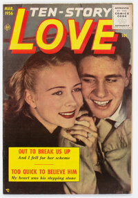 Ten Story Love V36#3 (Ace, 1956) Condition: VF+