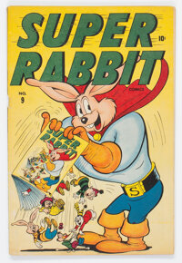 Super Rabbit #9 (Timely, 1946) Condition: FN+
