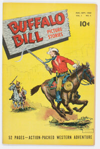 Buffalo Bill Picture Stories #2 (Street & Smith, 1949) Condition: VF-