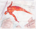 Original Comic Art:Illustrations, Bill Koeb - Daredevil Illustration and 2 Sketches Original Art (2020).... (Total: 3 Original Art)