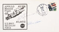 Explorers:Space Exploration, Apollo 9 Crew-Signed Recovery Ship Cover from the U.S.S.
