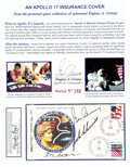 """Explorers:Space Exploration, Apollo 17 Crew-Signed """"Type Two Insurance"""" Cover #148, Can..."""