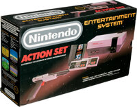 Nintendo Entertainment System: Action Set - Condition: VF+ Unopened / New, NES Nintendo 1988 USA