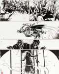 Original Comic Art, Paul Pope Batman: Year 100#4 Story Page 34 Original Art (DC, 2006). ...