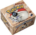 Memorabilia:Trading Cards, Pokémon First Edition Fossil Set Sealed Booster Box (Wizards of the Coast, 1999). ...