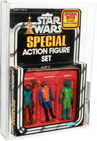 Star Wars - Creature 3-Pack Action Figure (Kenner, 1978) AFA 80 NM