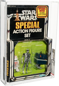 Star Wars - Droid 3-Pack Action Figure (Kenner, 1979) AFA 80 NM
