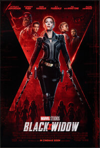 Black Widow & Other Lot (Walt Disney Studios, 2020). Rolled, Overall: Very Fine+. International One Sheets (4) (27&q...