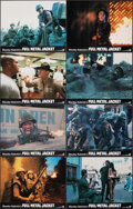 "Movie Posters:War, Full Metal Jacket (Warner Bros., 1987). Very Fine. Lobby Card Set of 8 (11"" X 14""). War.. ... (Total: 8 Items)"